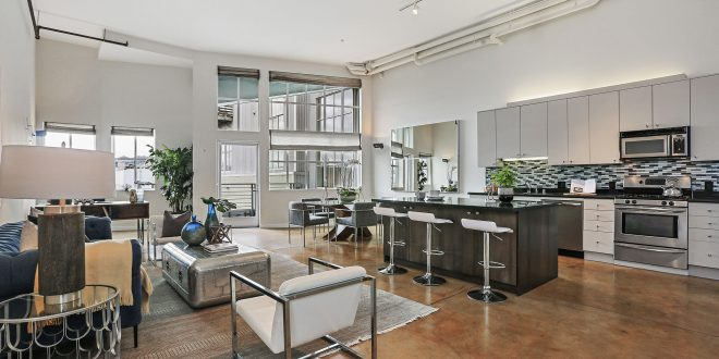 An Urban Chic Converted Loft Comes on the Market in SOMA!